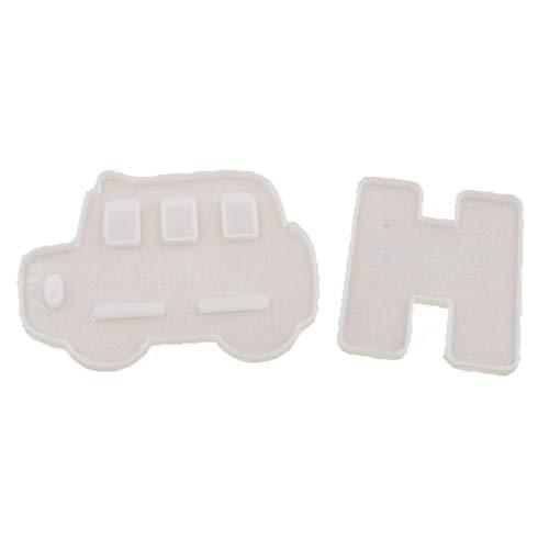 Soporte de teléfono móvil con forma de oso para coche, de resina de silicona, moldes para manualidades