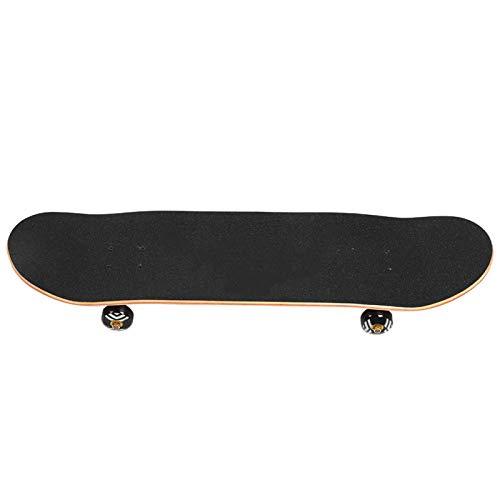 DAUERHAFT Allrad-Skateboard-Sport-Skateboard Langlebig, für Skateboard-Liebhaber, für Sport, mit blinkendem Rad(Pretty, 79 * 10 * 20)