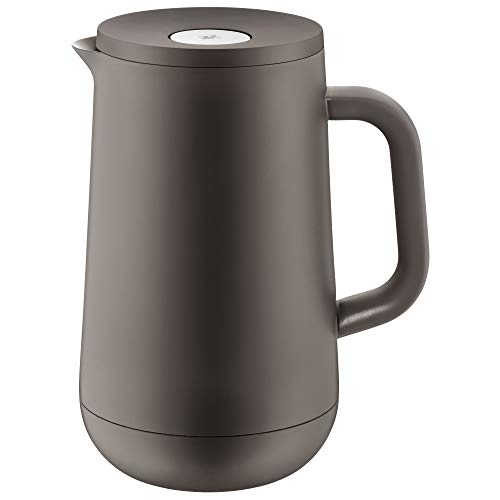 WMF–Jarra térmica (Impulse Antracita té café 1,0l, altura 23,4cm Vidrio Cierre Automático...