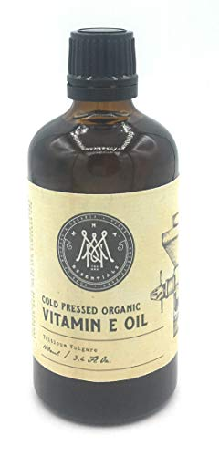 MNA Aceite de vitamina E orgánico 100ml - Ideal para eliminar las ojeras y el cutis - Puro, Natural, Vegano