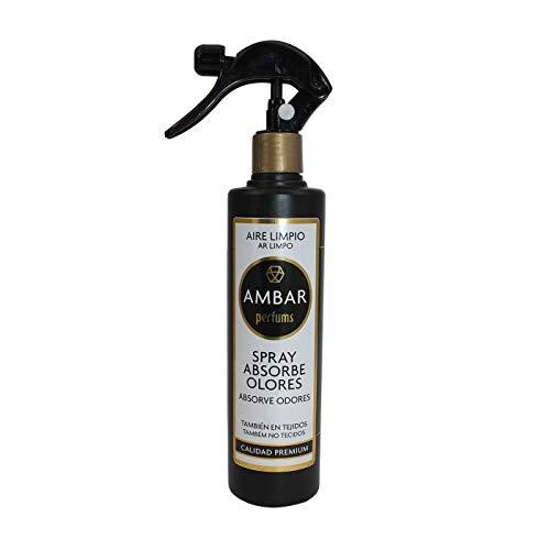 Ambar perfums Ambientador Absorbe olores en Spray Aire Limpio