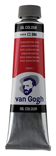 Van Gogh Oil Color Paint, 40ml Tube, Quinacridone Rose 366