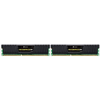 Corsair CML16GX3M2A1600C10 Vengeance 16GB (2x8GB) DDR3 1600 MHz (PC3 12800) Desktop Memory 1.5V