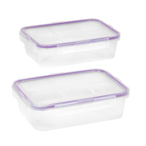 Snapware Airtight 4.5-Cup Rectangular Food Storage Container Set (4-Piece)