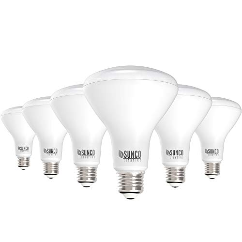 Sunco Lighting 6 Pack BR30 LED Bulb 11W=65W, 3000K Warm White, 850 LM, E26 Base, Dimmable, Indoor...