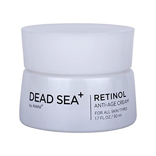 Dead Sea+ by AVANI Retinol Anti-Age Cream | Collagen Day Cream Anti Aging | All Natural Plant Extracts and Vitamins - 1.7 fl. oz