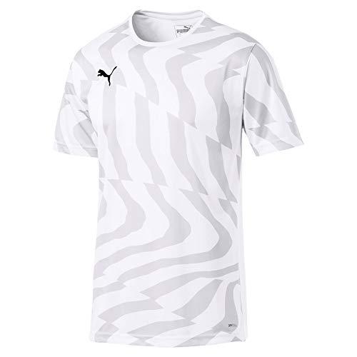 Puma Herren Cup Jersey Core Trikot, White Black, M