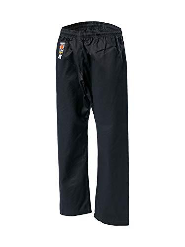 KWON® Baumwollhose 2023 Kick Pants Karate Hose schwarz 8oz