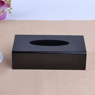 ZJJ Caja de pañuelos de acrílico Moderna, Soporte de pañuelos,Caja de pañuelosdispensadoraCaja detoallitas para bebés