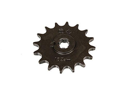 FEZ Ritzel, kleines Kettenrad, 16 Zahn - für Simson S50, KR51/1 Schwalbe, SR4-2 Star, SR4-3 Sperber, SR4-4 Habicht