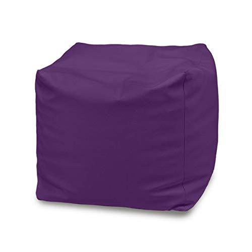 Italpouf Violett Sitzhocker Outdoor Cubo Möbel