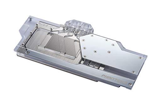 Phanteks Glacier RTX 2080/2080 Ti Grafikkarten-Wasserkühler - ASUS Strix - RGB - Chrome