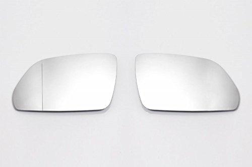 Spiegelgläser Links+Rechts Set Asphärisch Weiß