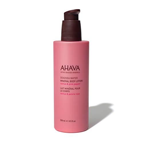 AHAVA Loción Mineral Para El Cuerpo Cactus Y Pimienta Rosa - 250 ml.