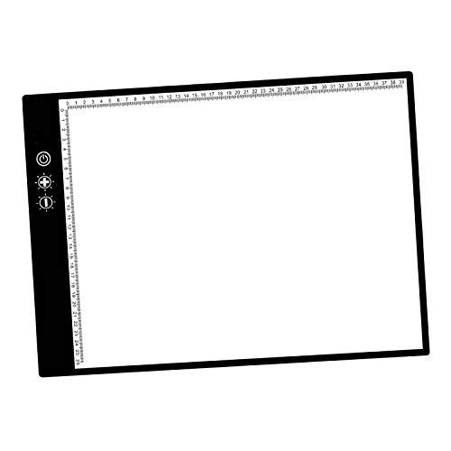 freneci Caja de luz LED A3 Tracer dibujo copia tablero almohadilla ojo-protegido para artistas animación