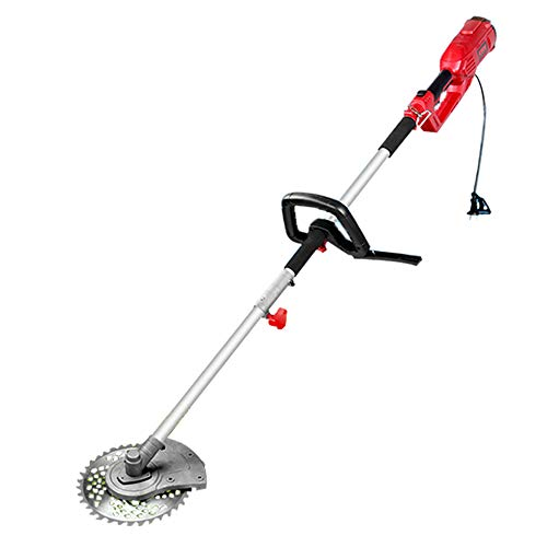 Sale!! DENGS 1200W Hedge Cutter Brush Cutter Grass Trimmer, Double Protection, Speed 5500r/min, Mult...