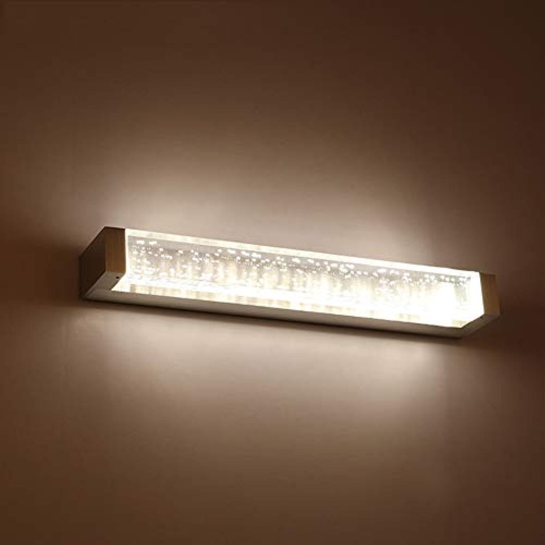 SSLW Badezimmerspiegelleuchte Einfache Gang wasserdichte Anti-Fog-Blase Acryl-LED-Wandleuchte,Neutrallight,52cm