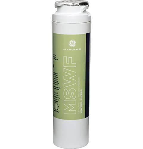 GE MSWF Refrigerator Water Filter, 1 Pack, White