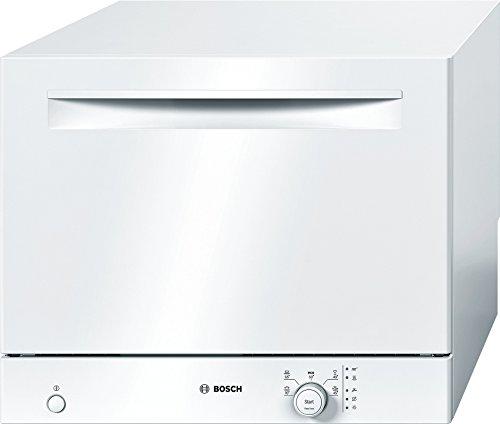 Bosch SKS50E32EU Serie 2 Tischgeschirrspüler / A+ / 174 kWh/Jahr / 6 MGD / weiß / ActiveWater Technologie / Beladungs-Sensor