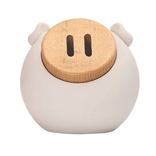 Bancos de dinero / Banco Piggy Hecho a mano de resina cerdo Piggy Bank Hogar Caja de efectivo Capacidad de gran capacidad para niños Hucha Boy Boy Moneda Bank Regalo Rosa Contando dinero Tarra / Big P