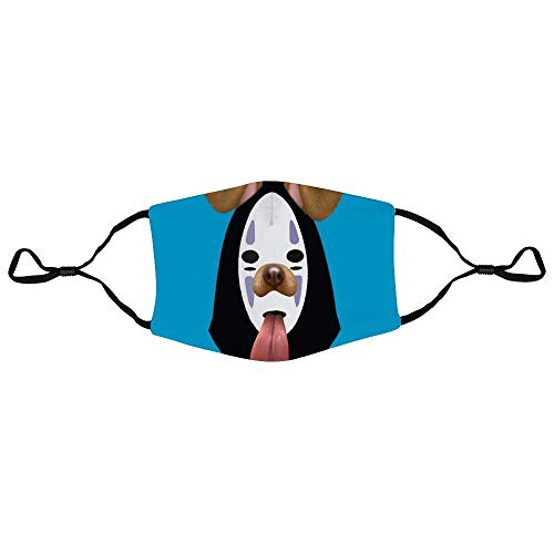 Mundschutz Spirited Away No Face Dog Snapchat Filter Personalized Anti-Dust Face Scarf Mouth Cover Face Cover