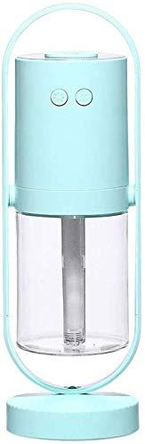 lndytq Luchtbevochtiger, kleine mute nachtlampje verstuiving aroma beweegbare kop USB magische schaduw projectie banaan luchtbevochtiger (kleur: D)