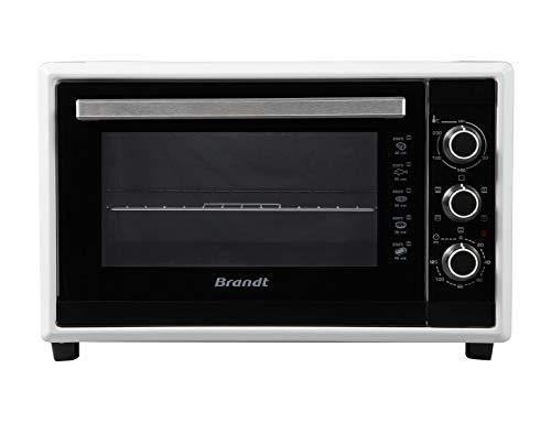 Brandt FC4200MW – Mini four Multifonction – Capacité 42L – Bandeau mécanique – 5 positions de cuisson – Puissance 1800W – 3 gradins – Blanc