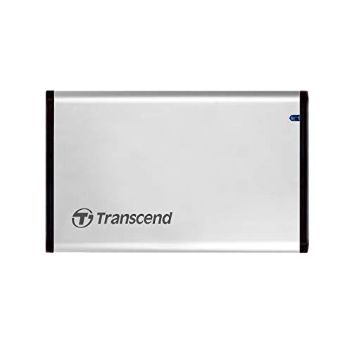 """Transcend 2.5"""" SATA III SSD/HDD Leergehäuse USB 3.1 Gen 1 TS0GSJ25S3"""