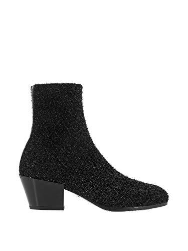 Luxury Fashion | Hogan Dames HXW4010CE70KLAB999 Zwart Elasthaan Enkellaarzen | Herfst-winter 19