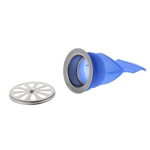 yaonow Silikon Kanalisation Abflussrohre Edelstahl WC-Seal-Bezug Waschmaschine deodorization A