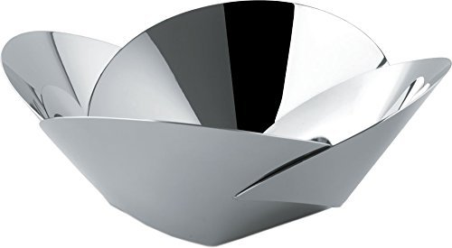 Alessi - ABI04 - Pianissimo Cestino in acciaio inossidabile 18/10 lucido.