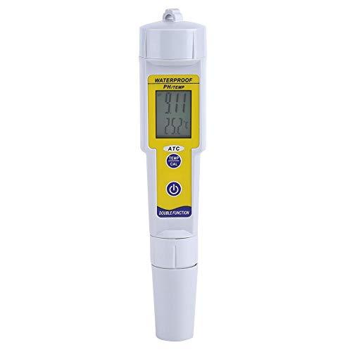 Medidor de PH Portátil PH Tester Digital LCD PH 0026 Temp Medidor de Calidad de Agua Tester para Acuario Pool Laboratorio