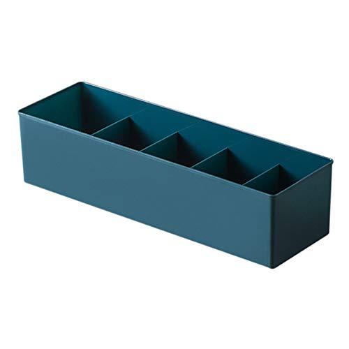 Memea Multifuncional calcetines ropa interior cajón organizador divisor armario organizador caja de almacenamiento para el hogar