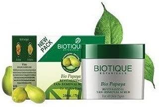 Biotique Bio Papaya Revitalizing Tan-Removal Scrub For All Skin Types 235gm