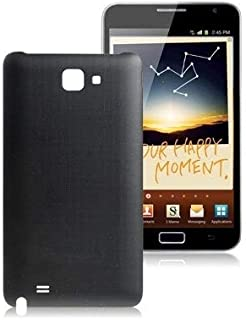 Lingland Back Cover for Galaxy Note / i9220 / N7000(Black) cell phone rear covers placement parts (Color : Black)