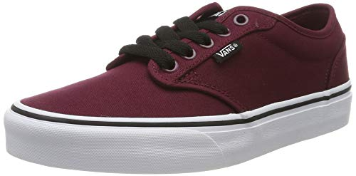 Vans Atwood Canvas, Zapatillas Hombre, Rojo Oxblood/White
