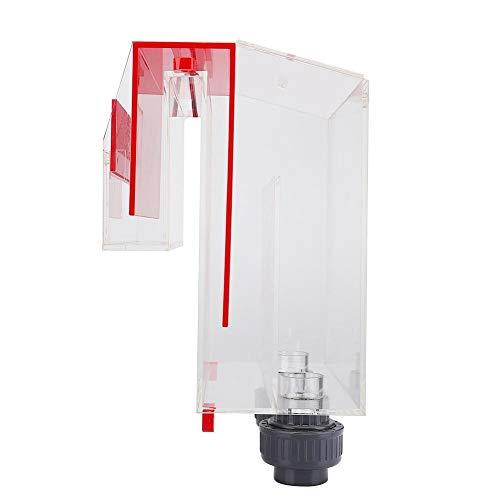 AMONIDA Siphon-Überlauf Acryl-Luftrohr-Aquarium-Überlaufbox Selbststart für Aquarium-Tanks