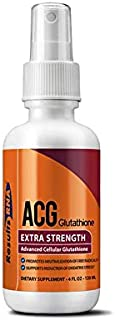 Results RNA ACG Glutathione Extra Strength | Advanced Cellular Glutathione The Ultimate Source Of Antioxidant To Help Minimize Stress & Optimizing Health And Athletic Performance - 2oz Bottle