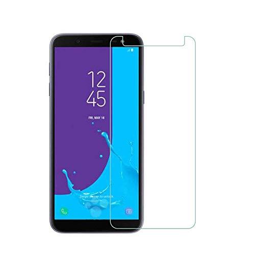 HQ-CLOUD Lot de 2 Film Vitre Verre Trempé de Protection d'écran Haute Transparence - Anti Rayures - Ultra Résistant Dureté 9H Samsung Galaxy J6 2018
