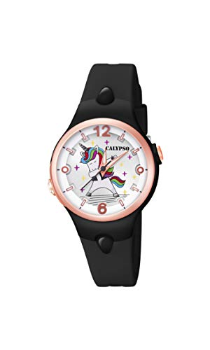 Calypso Reloj Analógico para Niñas de con Correa en Plstico K5784/8