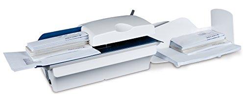 Hefter Systemform OL 440 Automatischer Brieföffner, Briefformate bis B4, blau/weiß