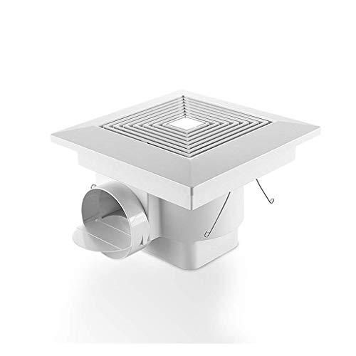 """Extractor De Baño, Fan de extractor de baño, techo de fan de extractor de cocina, 12""""para baño/cocina/sala de estar"""