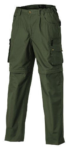 Pinewood Sahara Zip-Off Pantalon pour Sports d'extérieur Vert Vert Moyen 54