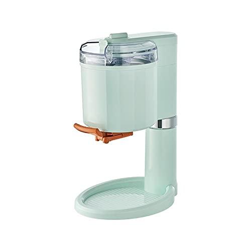 BAHAOMI Softeismaschine,Zu Hause 1 L Weich-/Hart Eismaschine,Kein Vorkühlen Erforderlich,8 Stunden Kühlung,Elektrische Eismaschine Milchshake Frozen Yoghurt Maker,Grün