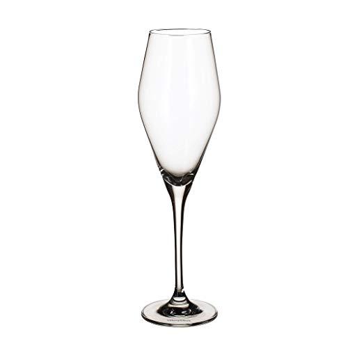 Villeroy und Boch La Divina Champagnerkelch, Set 4tlg. Glasset, Glas, 4-teilig, 4