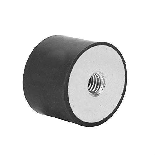 LF_FFa 1pc Anti vibración de Caucho aislador de Caucho Hilo Hembra Anti vibración aislador de Bobina Amortiguador de Goma de los pies de Montaje (tamaño : M4 10x10mm)