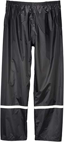 Unbekannt Hochwertige leichte Regenhose - Terratrend Rainforce schwarz - passend zur Regenjacke Rainforce, XL