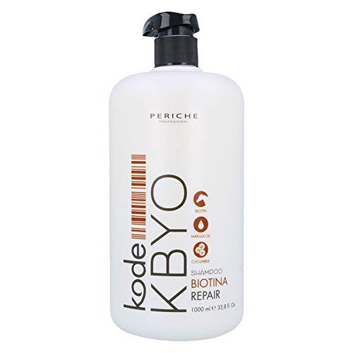 PERICHE Kode Kbyo Biotina/Repair Champú 1000 ml, Negro, 1000