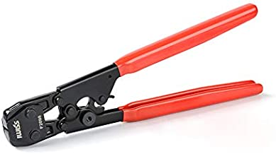 IWISS PEX Cinch Clamp Tool for Fastening Stainless Clamps from 3/8-Inch to 1-Inch with Calibration Gauge Suits ASTM F2098 and Non F2098 Ear Hose Clamps