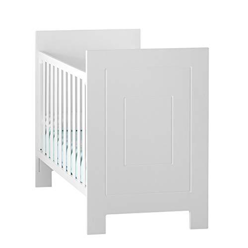 MANDARINA Cuna Karibu Convertible en Camita Sistema Montessori, Color Blanco